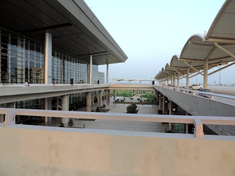 Aeroporto internazionale di Chandigarh, India immagine stock