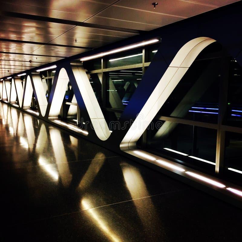 Aeroporto internazionale di Hamad immagine stock libera da diritti