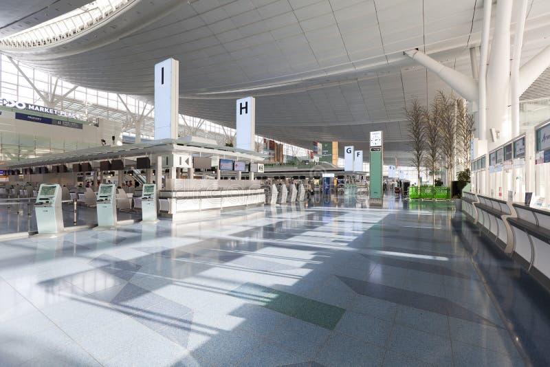 Aeroporto internazionale di Haneda, Giappone immagini stock libere da diritti