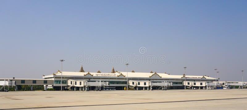 Aeroporto internazionale di Mandalay fotografie stock libere da diritti