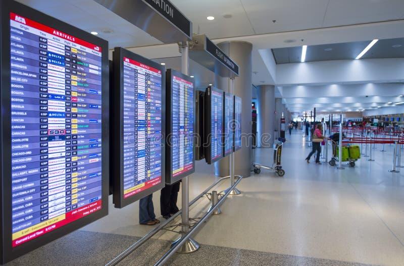 Aeroporto internazionale di Miami fotografia stock