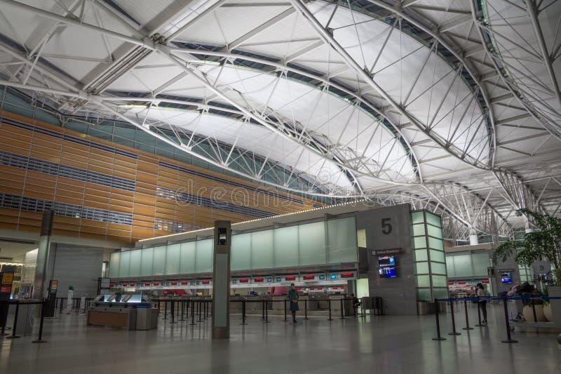 Aeroporto internazionale di San Francisco, California, America fotografia stock libera da diritti