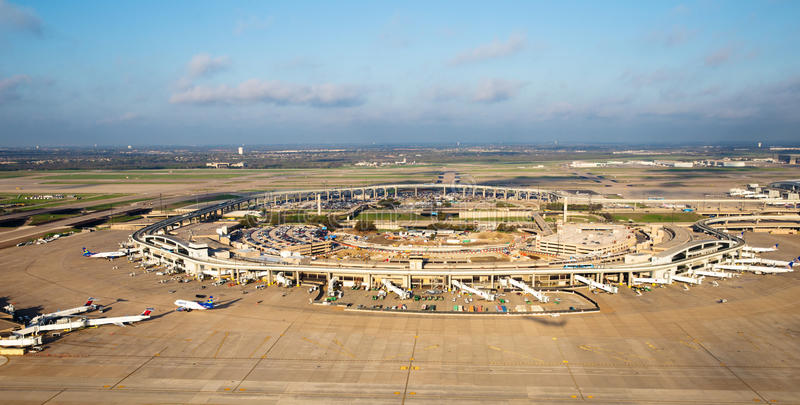Aeroporto internazionale Fort Worth/di Dallas fotografie stock
