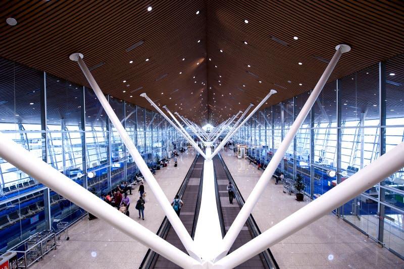 Aeroporto internazionale Sepang della Malesia KLIA fotografie stock libere da diritti