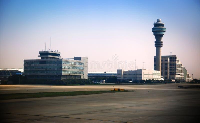 Aeroporto/Pudong de Shanghai fotografia de stock