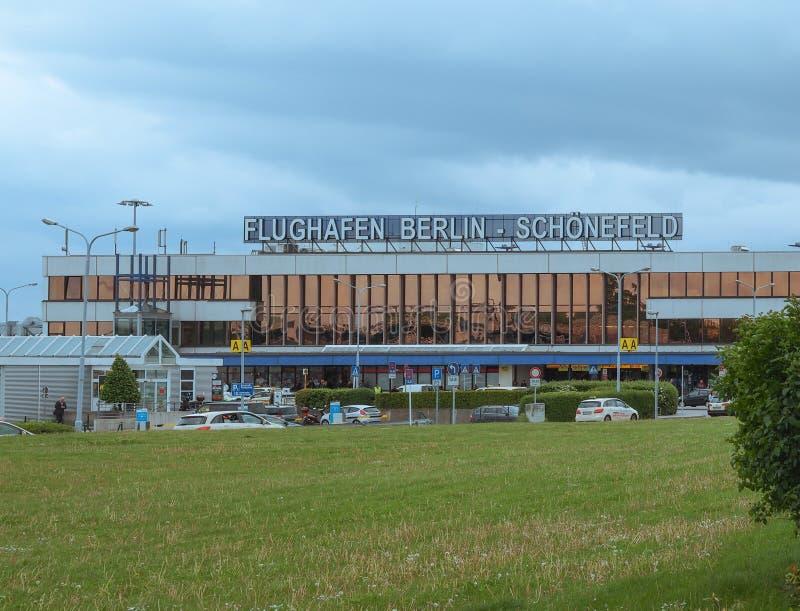 Aeropuerto Berlín de Schoenefeld imagenes de archivo