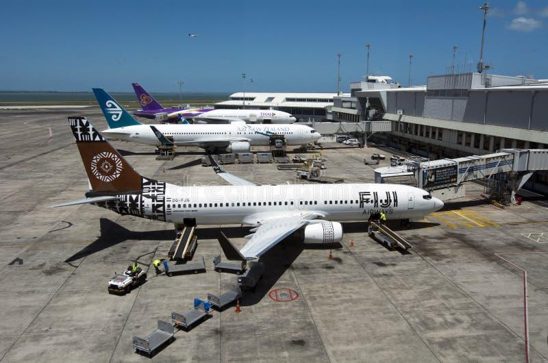 Aeropuerto de Auckland - Nueva Zelanda fotos de archivo