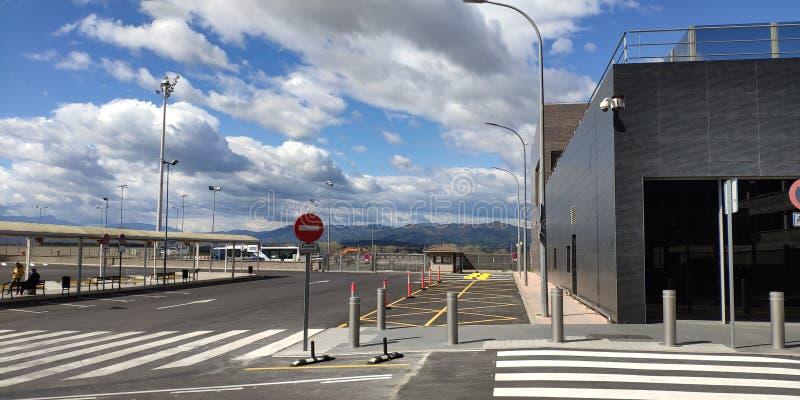 Aeropuerto de Barcelona fotos de archivo libres de regalías