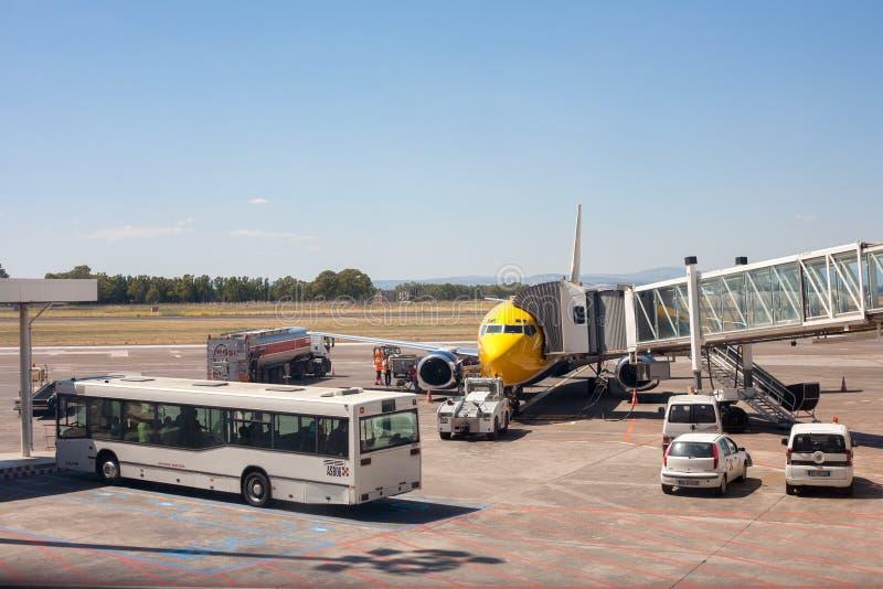 Aeropuerto de Catania imágenes de archivo libres de regalías