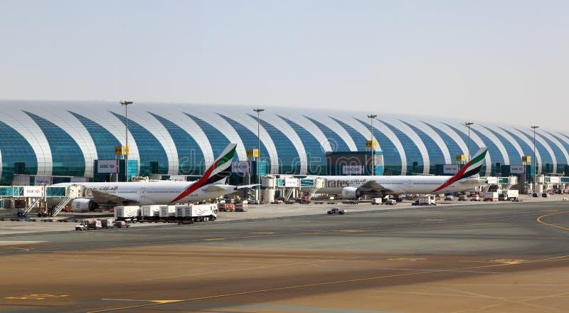 Aeropuerto de Dubai International fotos de archivo