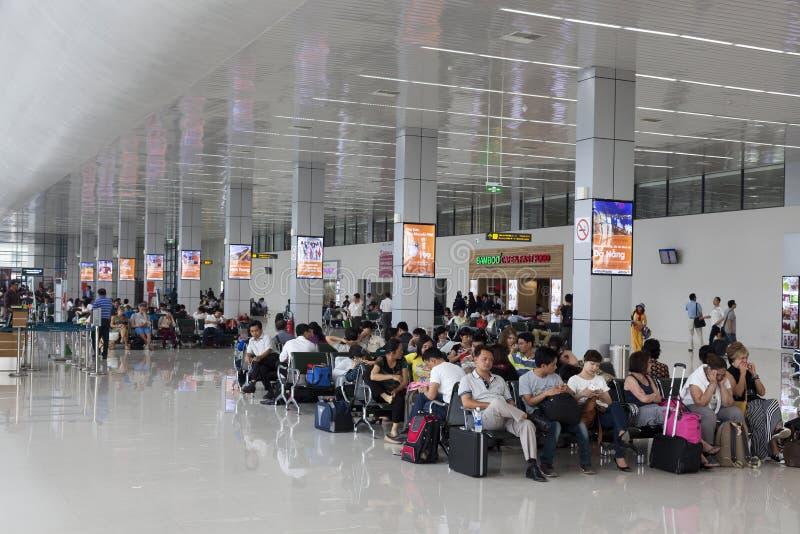 Aeropuerto de Hanoi Noi Bai fotografía de archivo
