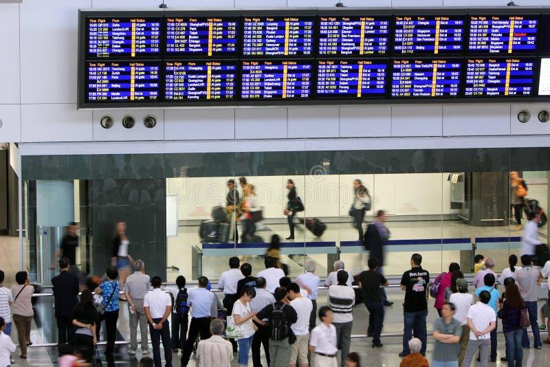 Aeropuerto de Hong-Kong Int'l foto de archivo