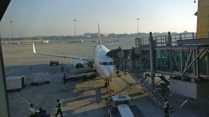 Aeropuerto de IGI foto de archivo