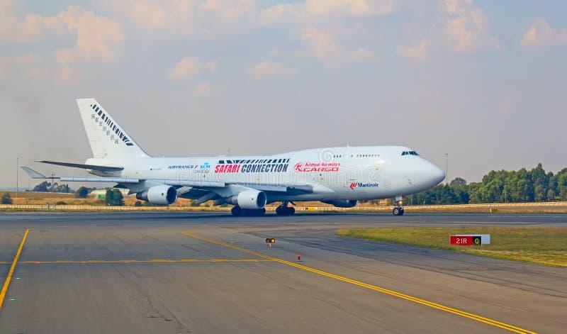 Aeropuerto de Johannesburg Tambo foto de archivo libre de regalías