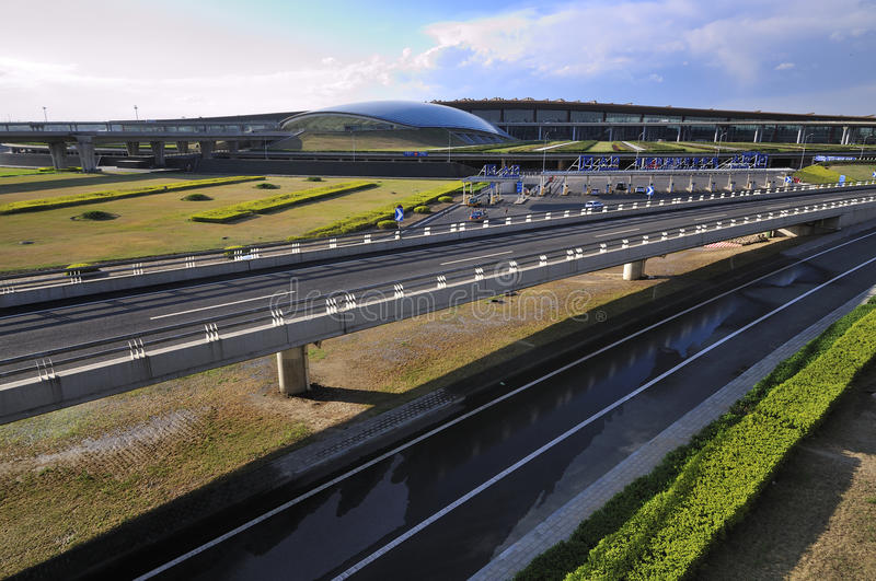 Aeropuerto de la capital de China Pekín imágenes de archivo libres de regalías