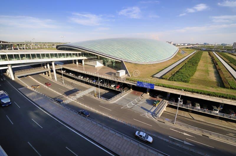 Aeropuerto de la capital de China Pekín fotografía de archivo libre de regalías