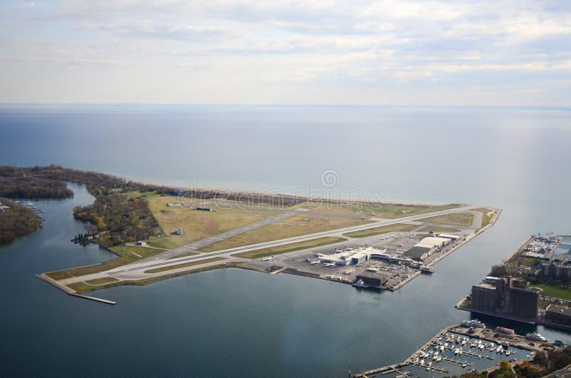 Aeropuerto de la isla de Toronto fotos de archivo libres de regalías