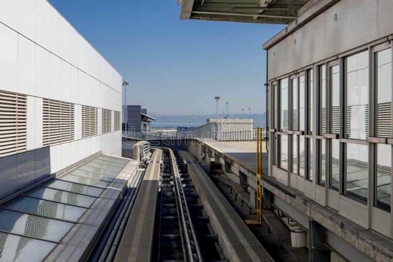 Aeropuerto de la SFO fotos de archivo libres de regalías