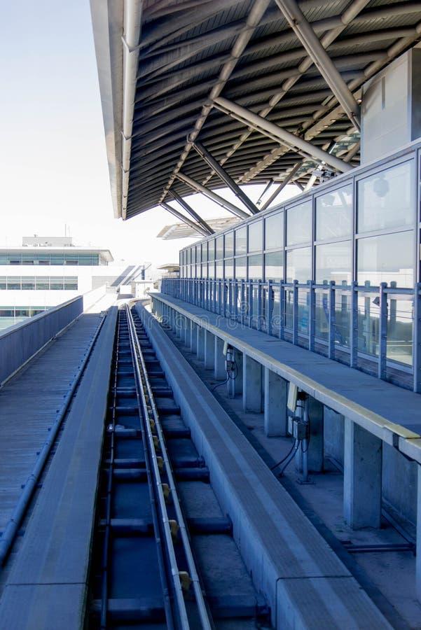 Aeropuerto de la SFO imágenes de archivo libres de regalías