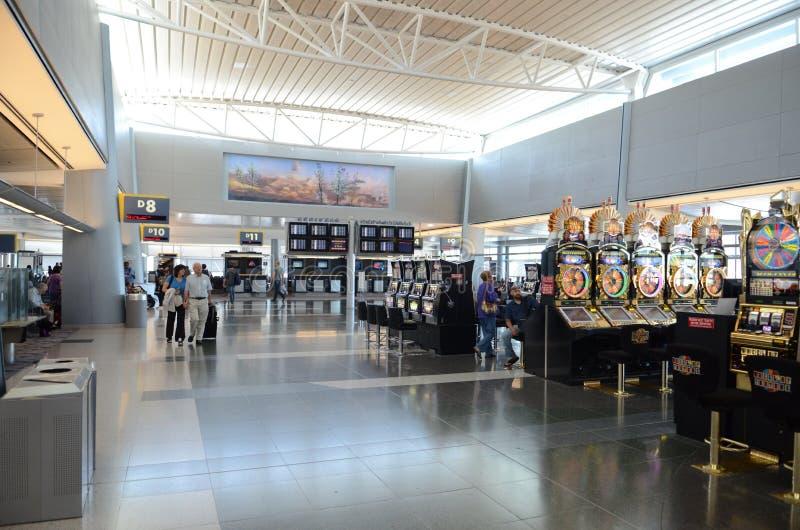 Aeropuerto de Las Vegas McCarran imágenes de archivo libres de regalías
