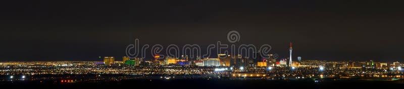Aeropuerto de Las Vegas y el pano de la tira foto de archivo