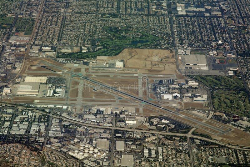 Aeropuerto de Long Beach imagen de archivo libre de regalías