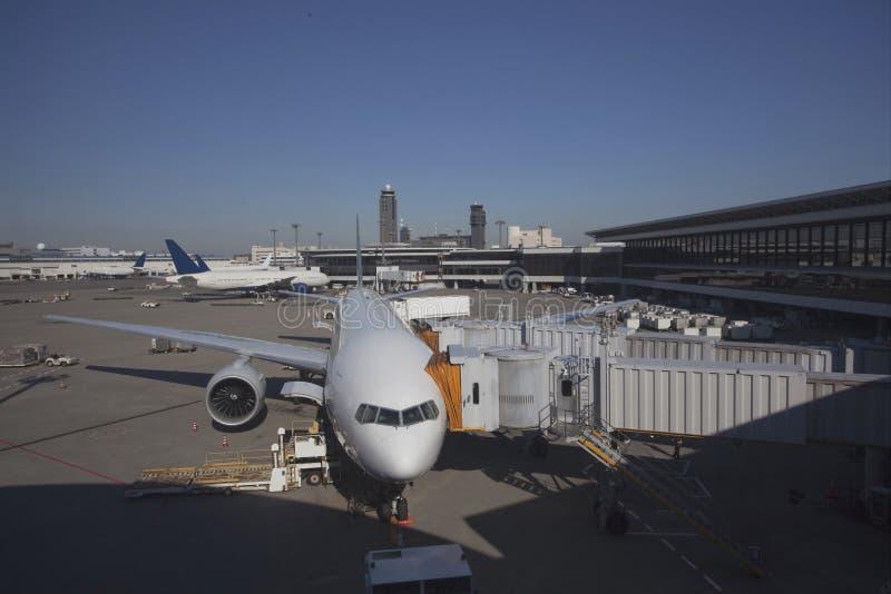 Aeropuerto de Narita en Japón imagen de archivo