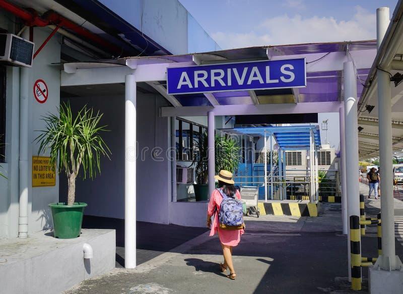Aeropuerto de Ninoy Aquino en Manila, Filipinas fotos de archivo