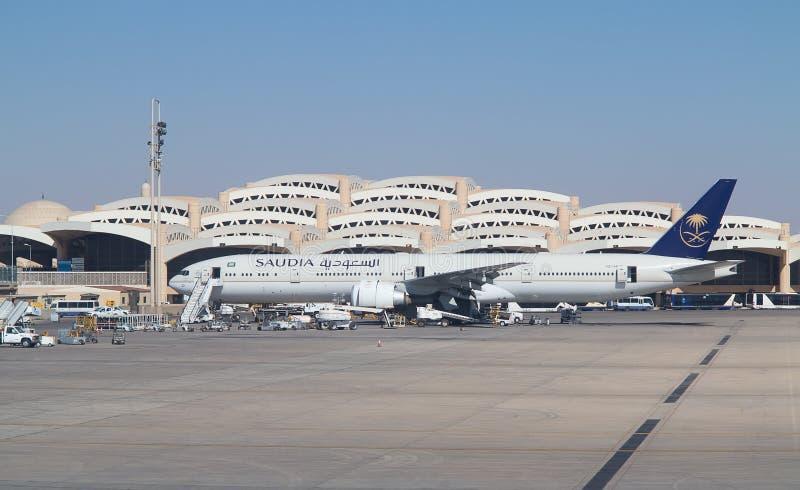 Aeropuerto de Riad fotos de archivo