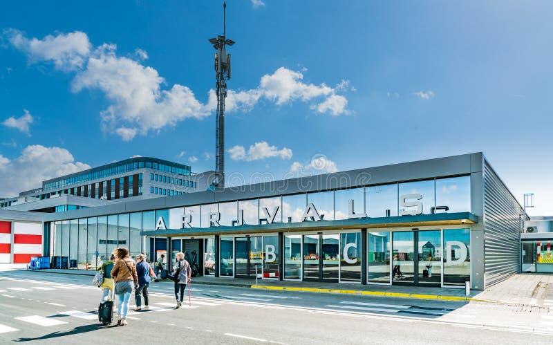 Aeropuerto de Rotterdam, Rotterdam fotos de archivo