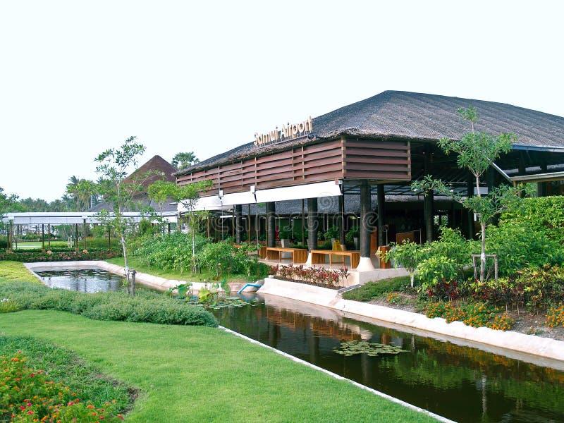 Aeropuerto de Samui de la KOH, Tailandia imagenes de archivo