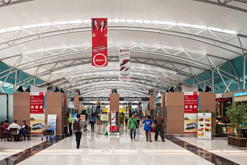 Aeropuerto de Soekarno Hatta imagen de archivo libre de regalías