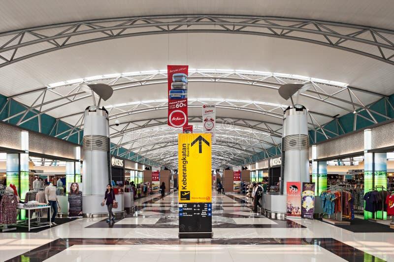 Aeropuerto de Soekarno Hatta foto de archivo