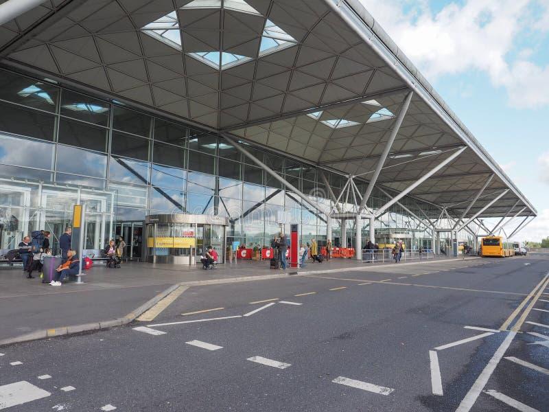 Aeropuerto de Standsted imágenes de archivo libres de regalías