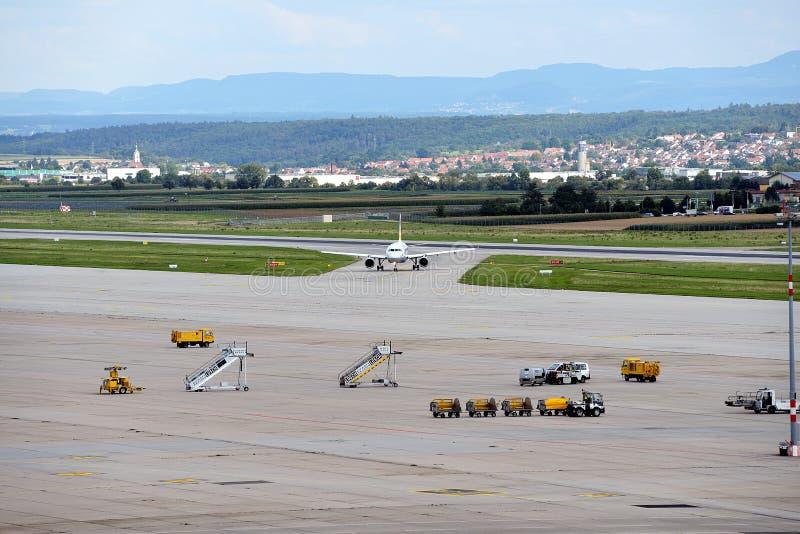 Aeropuerto de Stuttgart imagen de archivo
