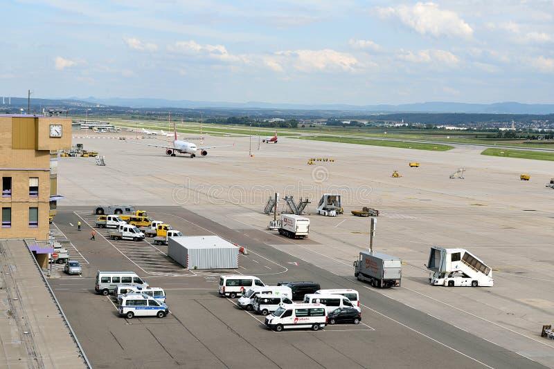 Aeropuerto de Stuttgart foto de archivo libre de regalías
