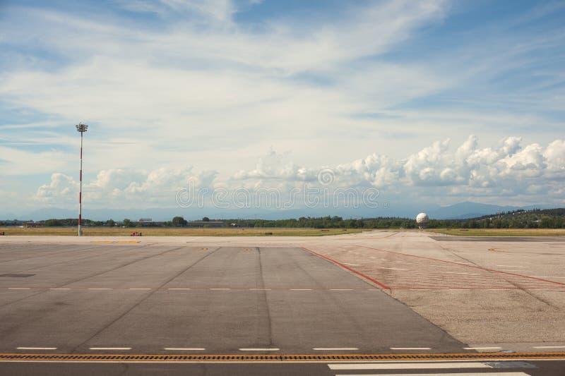 Aeropuerto de Trieste fotos de archivo