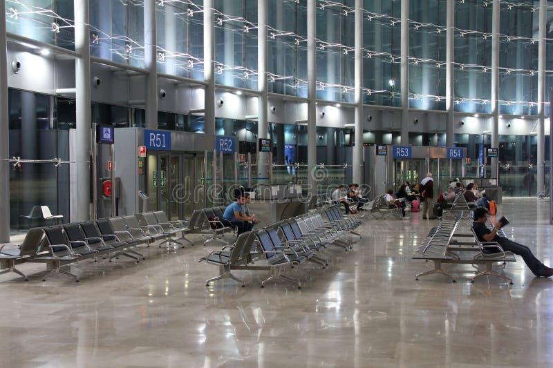 Aeropuerto de Valencia imagen de archivo libre de regalías
