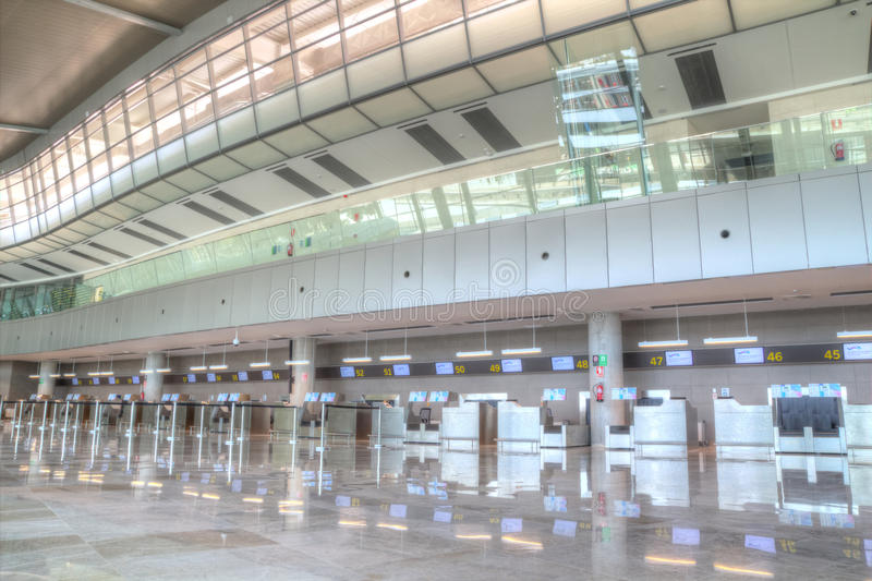 Aeropuerto de Valencia imagen de archivo