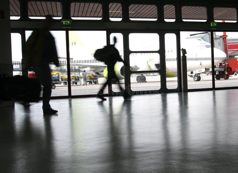 Aeropuerto del recorrido imagen de archivo libre de regalías