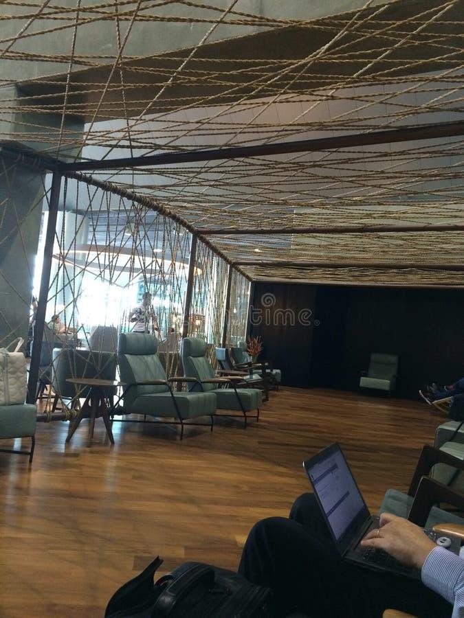Aeropuerto el Brasil foto de archivo libre de regalías