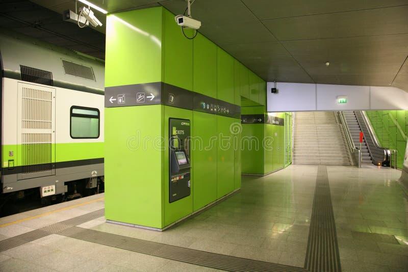 Aeropuerto-Exprese imagen de archivo