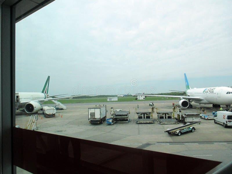 Aeropuerto Ezeiza Buenos Aires Argentinien lizenzfreies stockfoto
