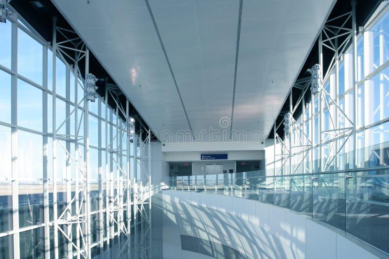 Aeropuerto futurista foto de archivo