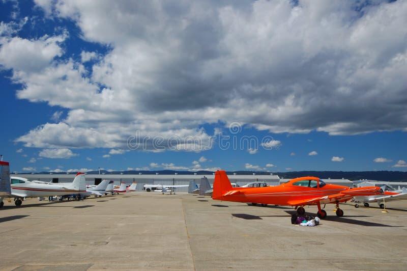 Aeropuerto general de la aviación fotografía de archivo libre de regalías