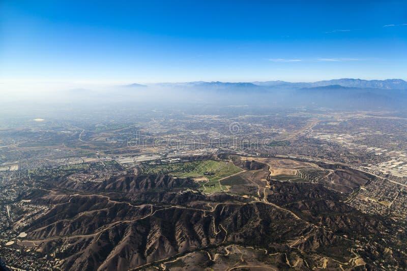 Aeropuerto inminente de Los Ángeles imagen de archivo