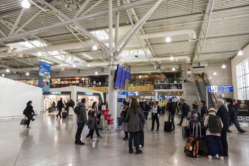 Aeropuerto internacional de Atenas fotos de archivo libres de regalías