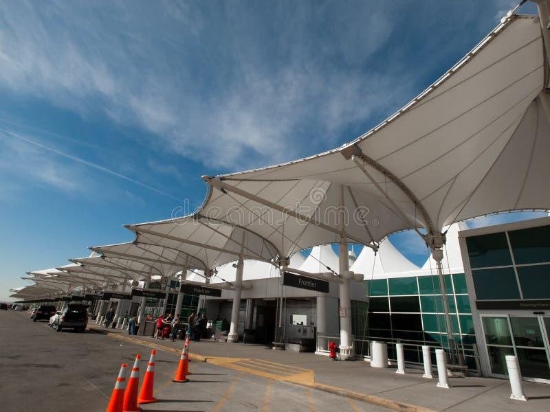 Aeropuerto internacional de Denver imágenes de archivo libres de regalías