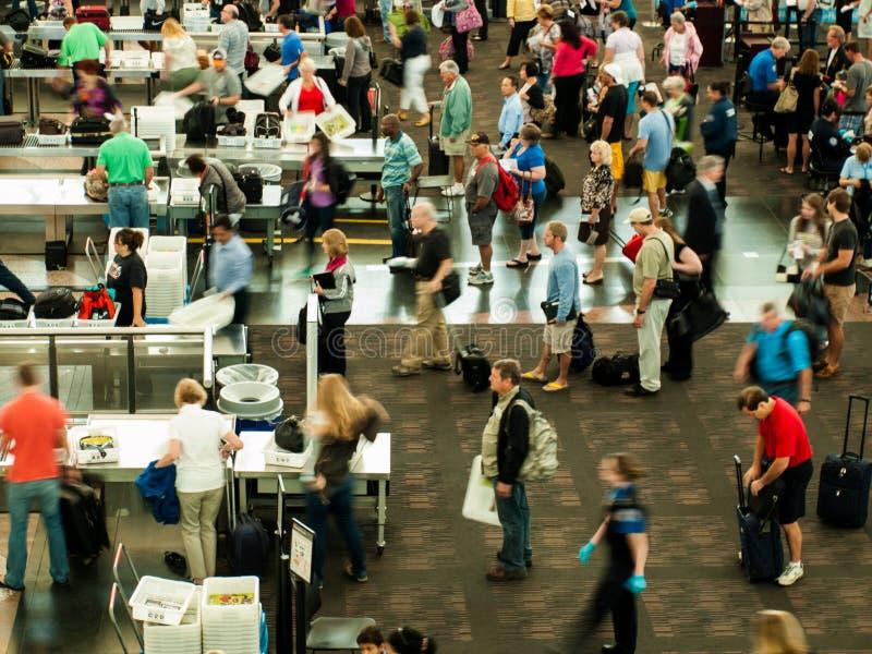 Aeropuerto internacional de Denver imagenes de archivo