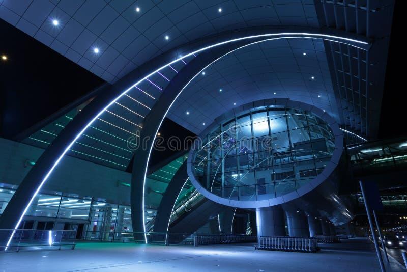Aeropuerto internacional de Dubai imagen de archivo libre de regalías